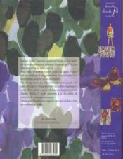 Dessins D'Imprimes : Une Aventure Dans Le Tissus Francais - 4ème de couverture - Format classique