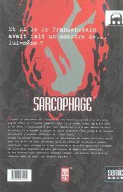 Sarcophage - 4ème de couverture - Format classique