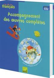 Les Cles Du Francais ; Ce2 ; Accompagnement Des Romans - Couverture - Format classique