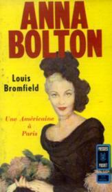 Anna bolton, une américaine à Paris (texte intégral) - Couverture - Format classique