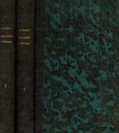 Histoire des opinions littéraires chez les anciens et chez les modernes, tomes 1 et 2 - Couverture - Format classique
