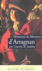 Memoires de monsieur d'artagnan - Couverture - Format classique