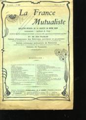 La France Mutualiste 36eme Annee N°829 - Couverture - Format classique