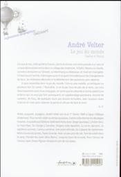 Le jeu du monde ; cartes à Yanny - 4ème de couverture - Format classique
