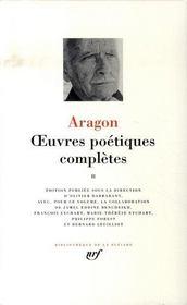 Oeuvres poétiques complètes t.2 - Intérieur - Format classique