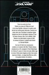 Faire des sciences avec Star Wars - 4ème de couverture - Format classique