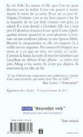 Ma Vie Folle - 4ème de couverture - Format classique