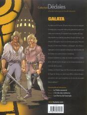 Galata T.2 L'Ermite Des Meteores - 4ème de couverture - Format classique