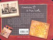 Souvenirs de mon école - 4ème de couverture - Format classique