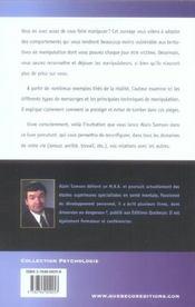 Vivre Consciemment - 4ème de couverture - Format classique