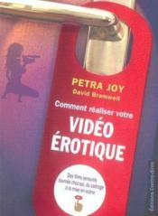 Comment Realiser Votre Video Erotique - Couverture - Format classique