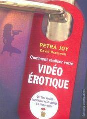 Comment Realiser Votre Video Erotique - Intérieur - Format classique