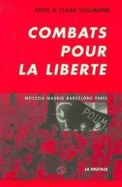 Combats Pour La Liberte - Couverture - Format classique