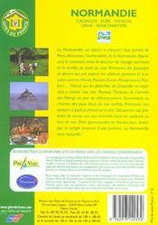 Gites De Normandie - 4ème de couverture - Format classique