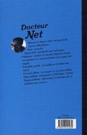 Docteur net - 4ème de couverture - Format classique
