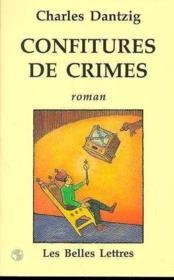 Confitures De Crimes - Couverture - Format classique