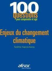Enjeux du changement climatique - Couverture - Format classique