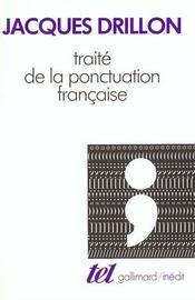 Traite De La Ponctuation Francaise - Intérieur - Format classique