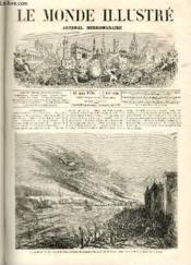 LE MONDE ILLUSTRE N°486 Les Autrichiens brûlent le pont de Stein, seul point de communication entre Vienne et Linz - Couverture - Format classique