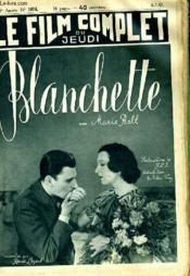 Le Film Complet Du Jeudi N° 1974 - 16e Annee - Blanchette - Couverture - Format classique