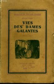 Vies Des Dames Galantes - Couverture - Format classique