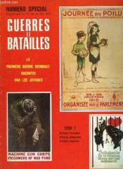 Gureres Et Batailles - N° 14 Supplement - La Premiere Guerre Mondiale Racontee Par Les Affiches - Tome I - Couverture - Format classique