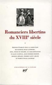 Romanciers libertins du xviiie siecle (tome 1) - Intérieur - Format classique