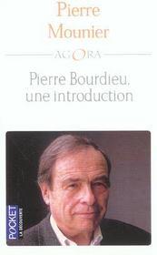 Pierre Bourdieu ; une introduction - Intérieur - Format classique