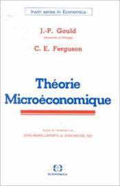 Theorie microeconomique - Couverture - Format classique