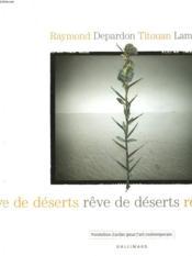 Reve De Deserts - Couverture - Format classique