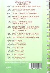 Le Carnet De Stage De L'Infirmiere T.6 ; Hépato-Gastro-Rntérologie Médicale Et Chirurgicale - 4ème de couverture - Format classique