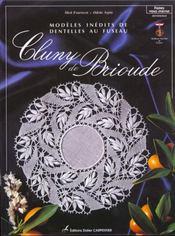 Cluny de Brioude ; modèles inédits de dentelles au fuseau - Intérieur - Format classique