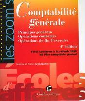 Comptabilite generale. - Intérieur - Format classique