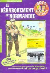 Le debarquement de normandie - Intérieur - Format classique