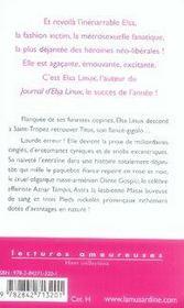 Elsa linux à saint-tropez - 4ème de couverture - Format classique
