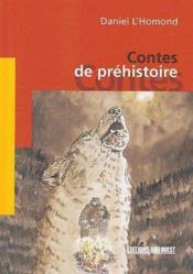 Contes de préhistoire - Couverture - Format classique