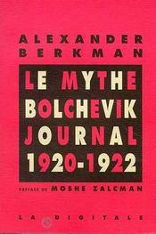 Le mythe bolchevik - journal 1920-1922 - Intérieur - Format classique