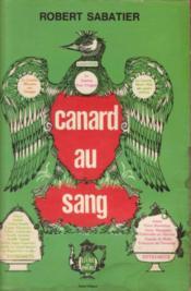Canard au sang (texte intégral) - Couverture - Format classique