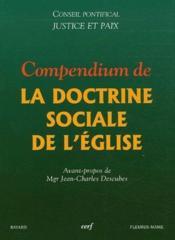Compendium de la doctrine sociale de l'eglise - Couverture - Format classique