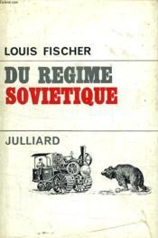 Du Regime Sovietique. - Couverture - Format classique