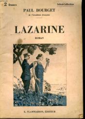 Lazarine. Collection : Select Collection N° 302 - Couverture - Format classique