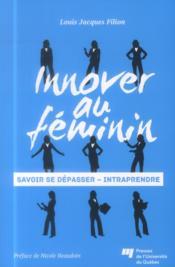 Innover au féminin - Couverture - Format classique