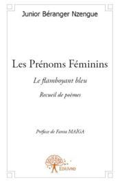 Les prénoms féminins - Couverture - Format classique
