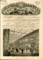 L'UNIVERS ILLUSTRE - SEPTIEME ANNEE N° 305 - La Nouvelle Galerie de l'Ecole Française au Louvre. - Couverture - Format classique