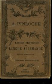 Lecon Pratique De Langue Allemande - Cours Superieur - Ii - Vocabulaire Etymologique - Couverture - Format classique