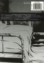 Prison school T.4 - 4ème de couverture - Format classique