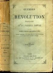 GUERRES DE LA REVOLUTION FRANCAISE ET DU PREMIER EMPIRE - TOME ONZIEME /LIVRE 7e (CHAPITRES VI, VII; VIII, IX) - LIVRE 8e (CHAPITRES I à III). - Couverture - Format classique