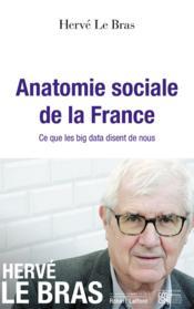 Anatomie sociale de la France - Couverture - Format classique