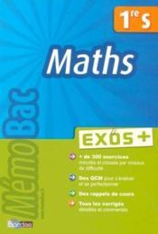 Maths ; 1ère S - Couverture - Format classique