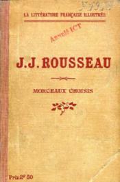 Jean-Jacques Rousseau, Morceaux Choisis - Couverture - Format classique